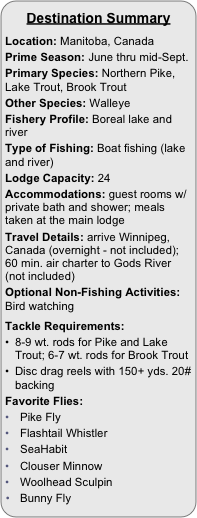 Destination Summary